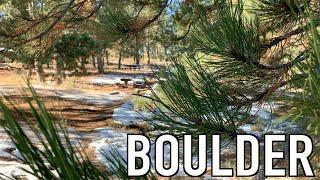 EXPLORING BOULDER + WEDDING + SNOW || BOULDER TRIP 2018