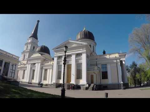 Sobornaya Square, Odessa, Ukraine
