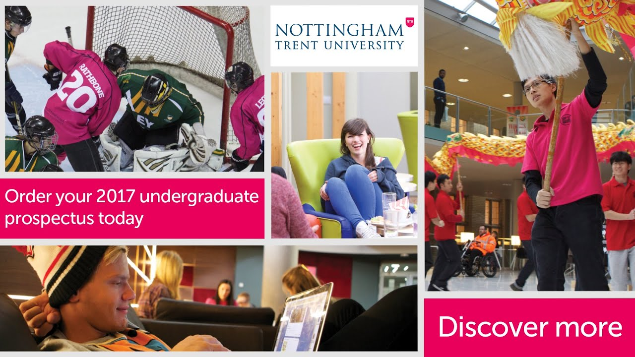 Study For Your Degree At Nottingham Trent University Youtube