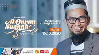 Download Mp3  Live  Program Aqso : Serial Tafsir Surah Al-baqarah - Ustadz Adi Hidayat