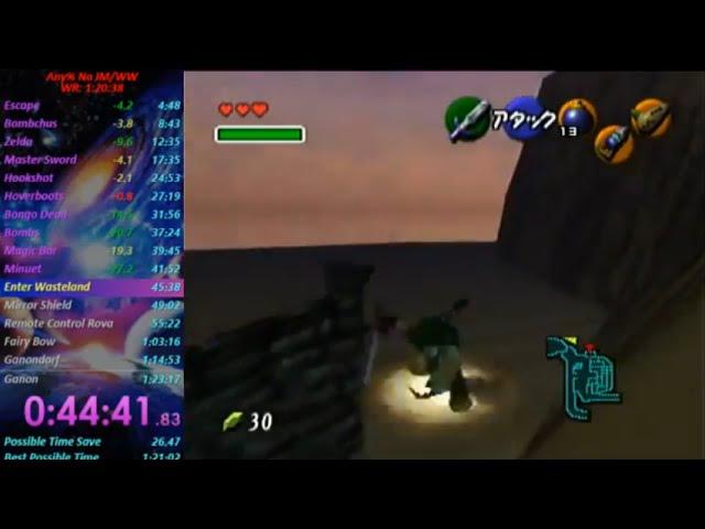 Escape From Kokiri Forest - 100% Ocarina of Time Speedrun
