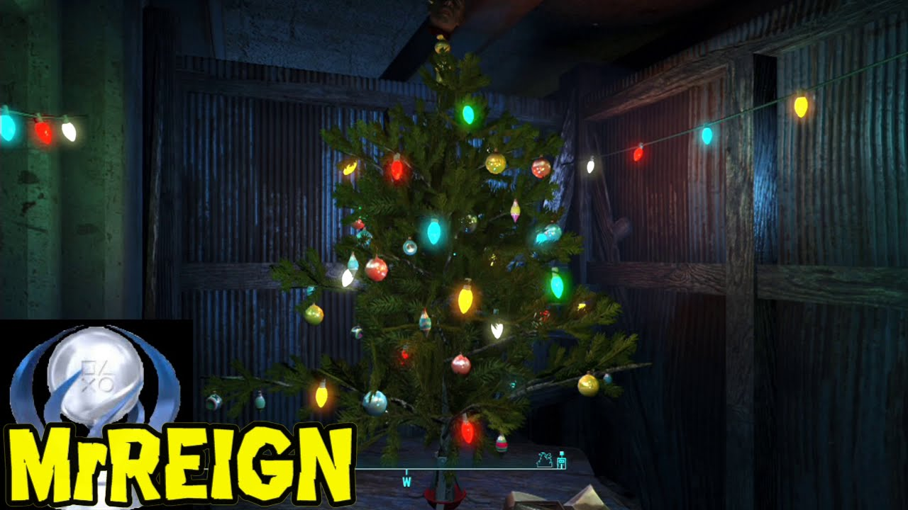 fallout 4 christmas tree easter egg whats under the tree youtube - 4 Christmas Tree