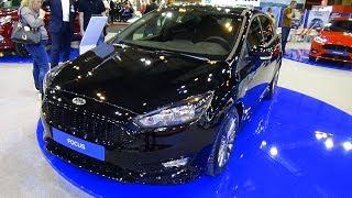 2018 Ford Focus ST-Line Berline 1.0 Ecoboost 125 - Exterior and Interior - Salon Madrid Auto 2018