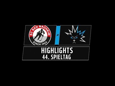 DEL2 Highlights 44. Spieltag | EC Bad Nauheim vs. Dresdner Eislöwen