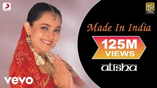 Alisha Chinai - Made In India Video thumbnail