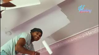 How to apply Asian Paints ceiling White