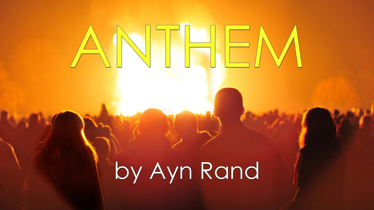 ayn rands anthem Product description:  anthem anthem is ayn rand's classic tale of a dark future age of the great we-a world that deprives individuals of name, independence, and values.