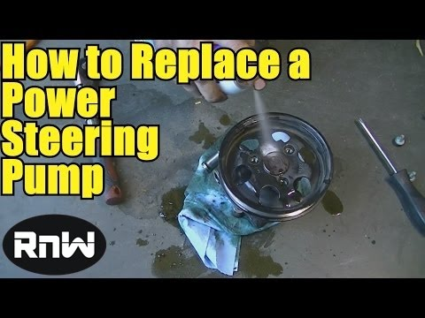 How to Remove and Replace a Power Steering Pump
