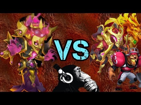 Bogeyman | VS | 20 Top Heroes | Gabasaurous | Castle Clash