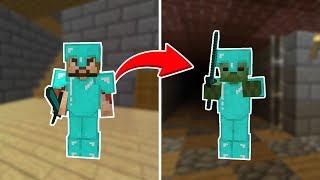 ZENGİN ZOMBİYE DÖNÜŞTÜ! 😱 - Minecraft