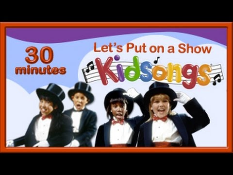 Let's Put on a Show | Kidsongs | Kids Dance Songs | Mr Bass Man | PBS Kids | Me and My Shadow