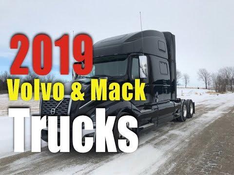 2019 Volvo & Mack Truck Tour  New Trucks   Prime Inc ( Trucking ) ( CDL ) ( Jobs )