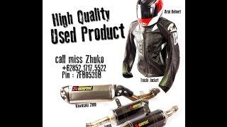 Jaket RS Taichi Kulit Seken, kondisi 94% di DuniaMotor.com
