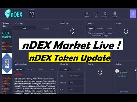 NDEX Token Update NDEX Network Exchange Earn 100$ Future Big Exchnge Trading Start Now! #nDEX6542