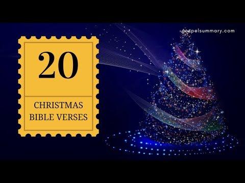 Top 20 Christmas Bible Verses