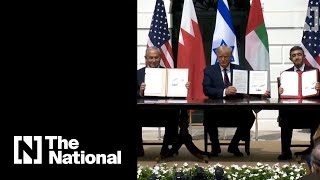 Historic Moment When Abraham Accord Was Signed At White House