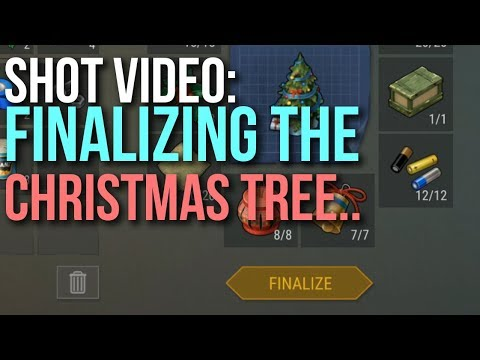 Finalizing The Christmas Tree Last Day On Earth Survival Youtube