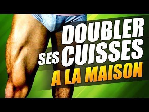 DOUBLER SES CUISSES et SES FESSIERS - Programme COMPLET A LA MAISON