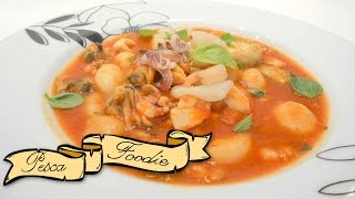 Seafood Gnocchi Stew | Pescafoodie ⚓ Episode 36