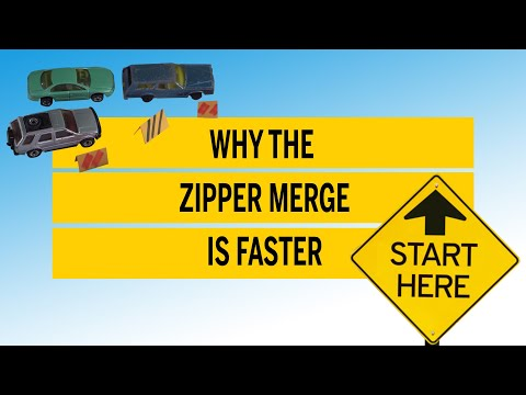 Why the Zipper Merge is faster