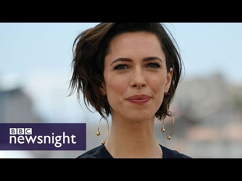 Rebecca Hall on Christine - and why we need to talk about mental health - BBC Newsnight