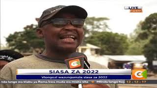 Hisia ziznatolewa na Viongozi kwale siasa za 2022 #CitizenExtra