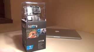 Распаковка GoPro Hero 3 Black Edition