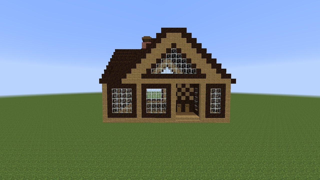 видео про майнкрафт как строить дом