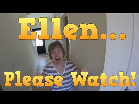 Ellen Degeneres - Please Watch this Short Video. We need your HELP