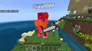 Trolling Chale0000 (Minecraft Invisibility Potions)