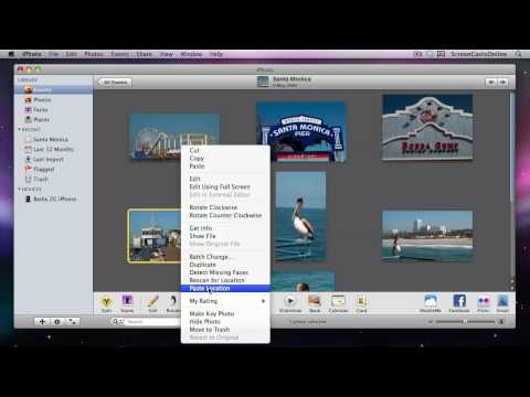 005 - iPhoto Geotagging with iPhone