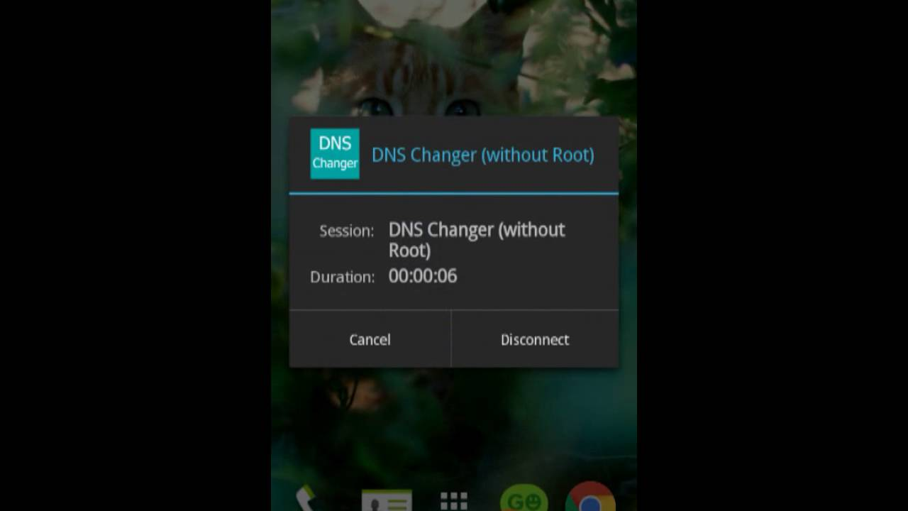 DNS Changer (without root)