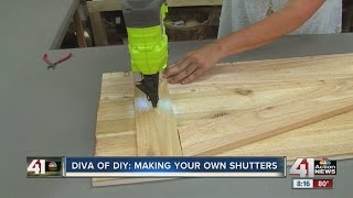 Leanne Lee of DIY teaches you how to make your own window shutters. ◂ 41 Action News, KSHB, brings you the latest news,