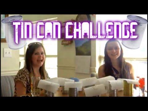 TIN CAN CHALLENGE w/ Kinsey!   MeganLovesBieber8