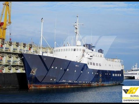 56m / 82 pax Cruise Ship for Sale / #266F - USD 750,000