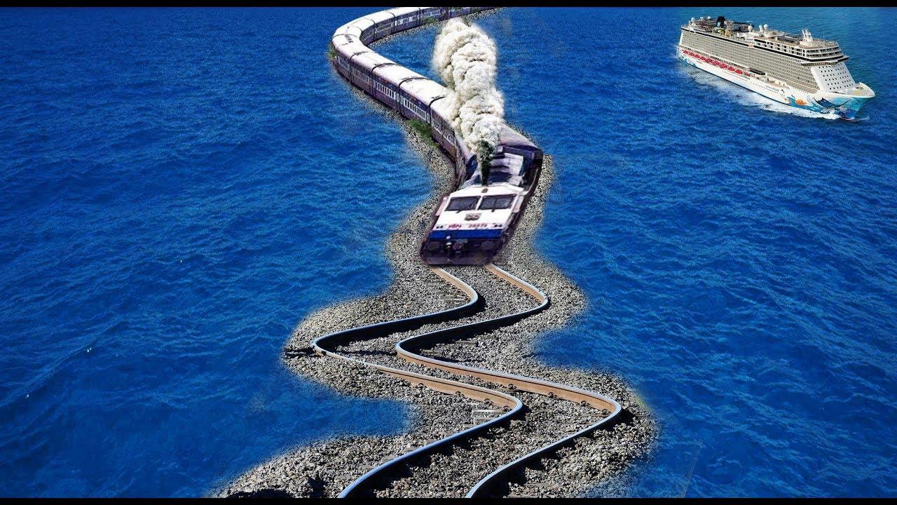 दुनिया के 10 सबसे खतरनाक रेलवे ट्रैक | 10 Most Dangerous Railway Tracks