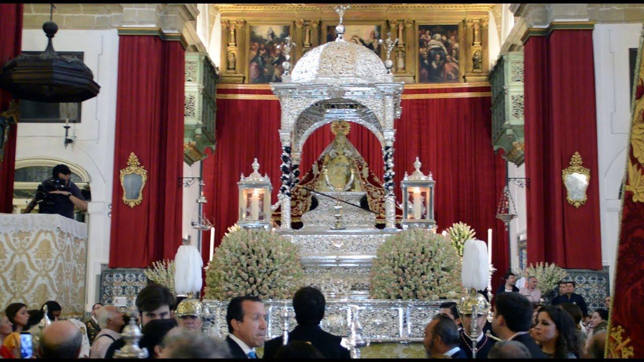 Virgen De La Caridad 2017 Sanlúcar De Barrameda Youtube