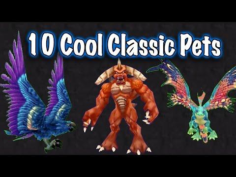 Jessiehealz - 10 Awesome Vanilla Pets Display (World Of Warcraft)