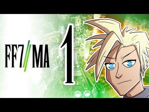 Final Fantasy VII: Machinabridged (FF7:MA) - Ep. 1 - TeamFourStar