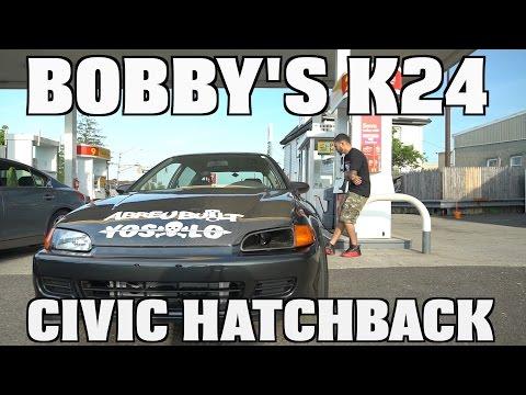 Bobby's K24 All Motor Civic Hatch
