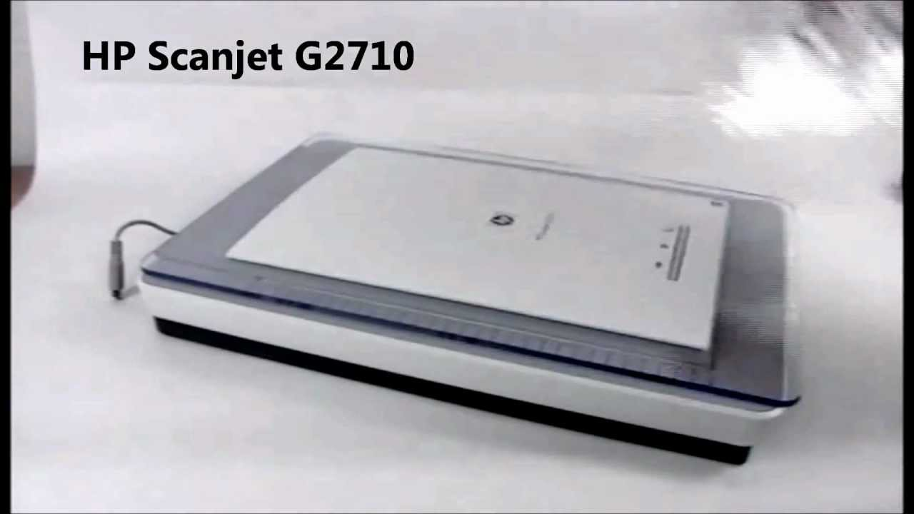 driver hp scanjet g2710