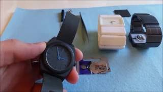 Nixon Watch Battery Replacement