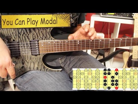 How To Use Modes In Your Guitar Solos - Part 2