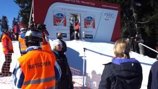 Abfahrt Garmisch Partenkirchen; Start Tina Weirather