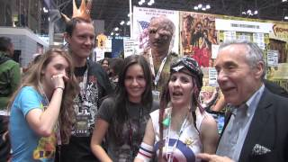 Troma Entertainment @ New York Comic Con (12-Oct-2012)