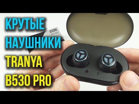 TRANYA B530 Pro - ДОСТОЙНЫЕ  БЕСПРОВОДНЫЕ НАУШНИКИ с AptX