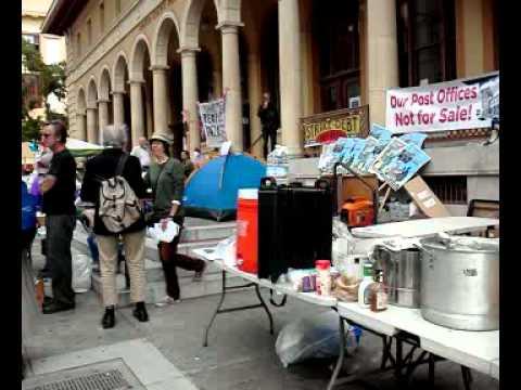 Berkeley Post Office Defense Day 1 #5
