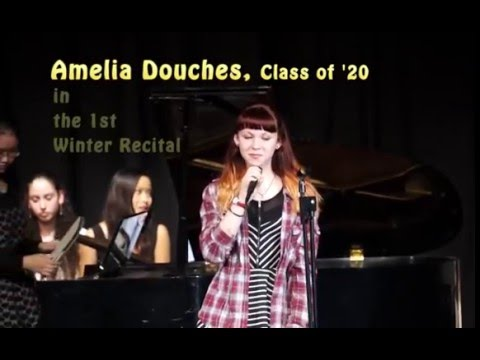 The Storm King School's Amelia Douches in the 1st Winter Recital