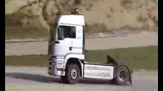 Driffting con un camion!!!