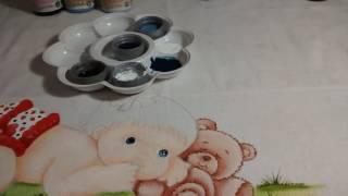 Dica:pintado olhinhos+dica de cores